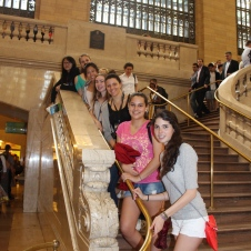 Interviews in Grand Central