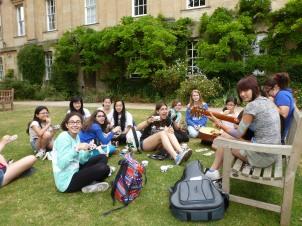 Enjoying G&D's in the garden