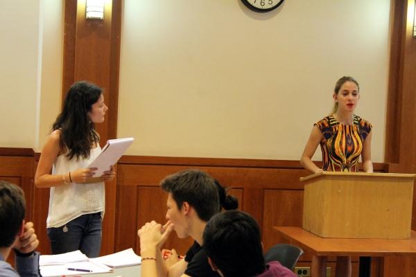 Public Speaking Debate