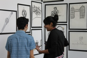 Fine Arts Gallery Reception