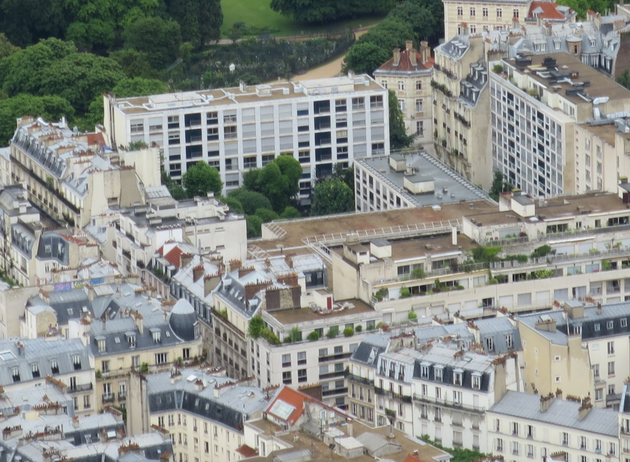 View of Notre Dame de Sion from the Tour Montparnasse Photo taken by student Brandon Chiu