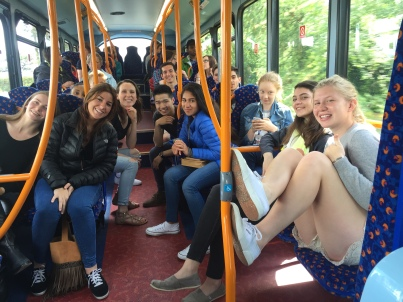 Bus to Dundee
