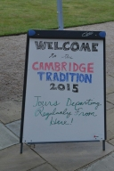 Welcome to Cambridge!
