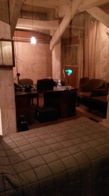 Churchill's very own room