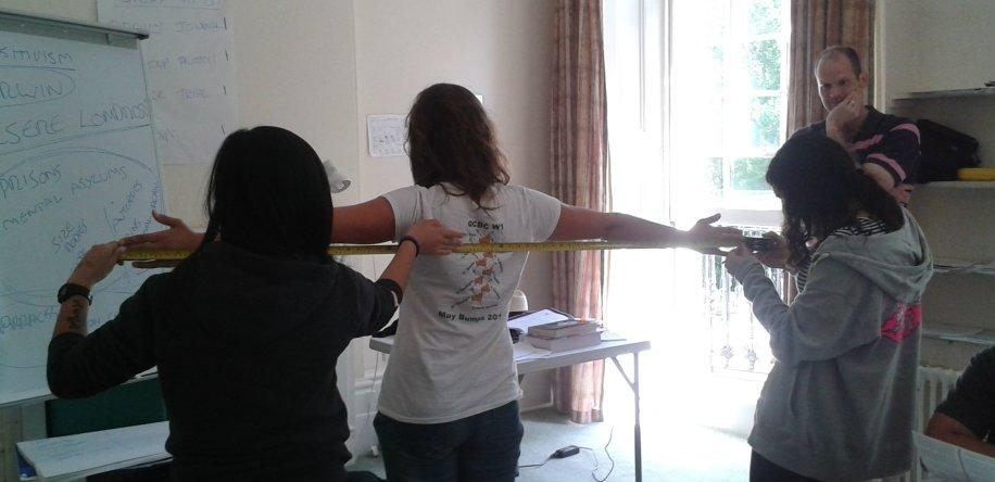 Measuring armspan