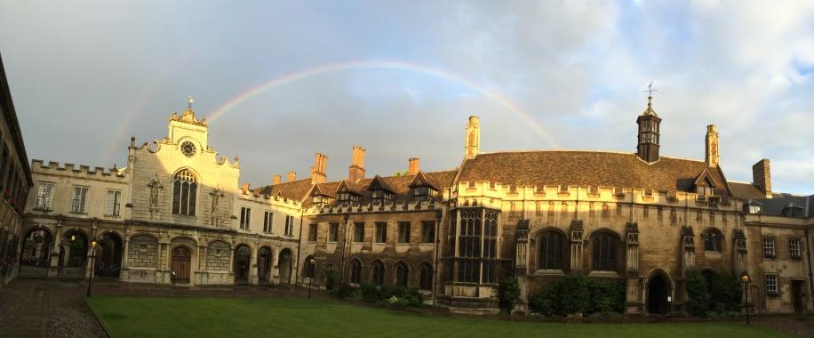 Double Rainbow Seen From Old Court, Peterhouse