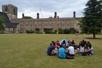 A little time to relax and get to know Jesus College
