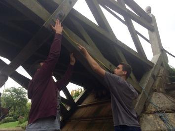 Measuring the famous Mathematical Bridge