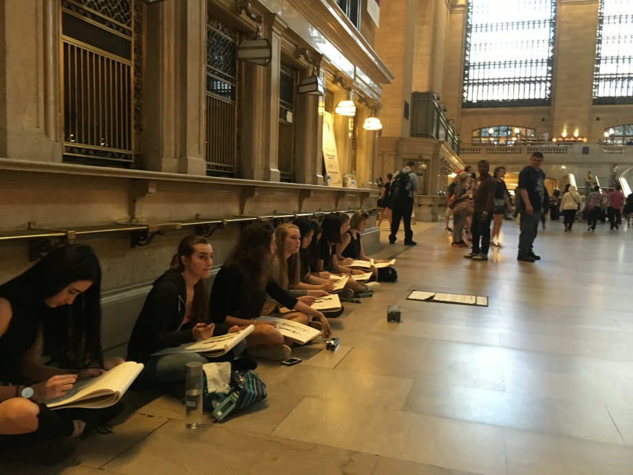 art majors at grand central 2