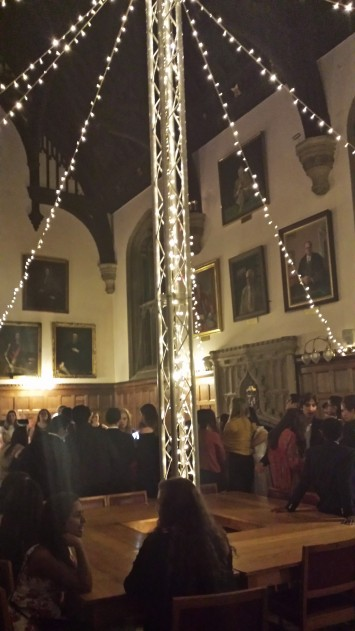 our hall transformed
