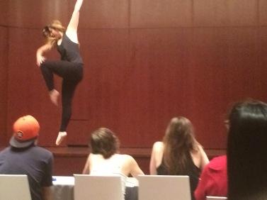 dancing talent show
