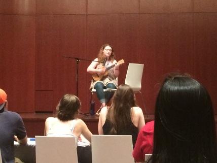 Fiona talent show