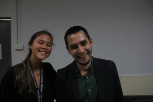 The Psychology professor and class winner