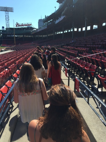 Fenway tour and Sox Game