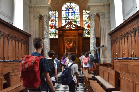 Pembroke chapel isn't too bad either